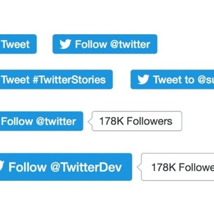 Twitter's New Buttons: Missing Twitter's share count? We show you another way