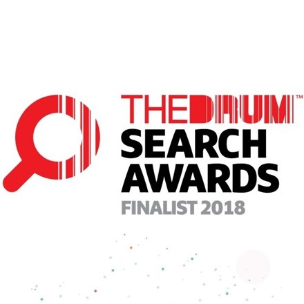 Fresh Egg are shortlisted for two Drum search awards