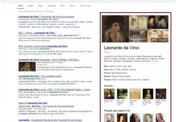 Google-SERP-screenshot-leonardo-davinci-knowledge-graph-630x486