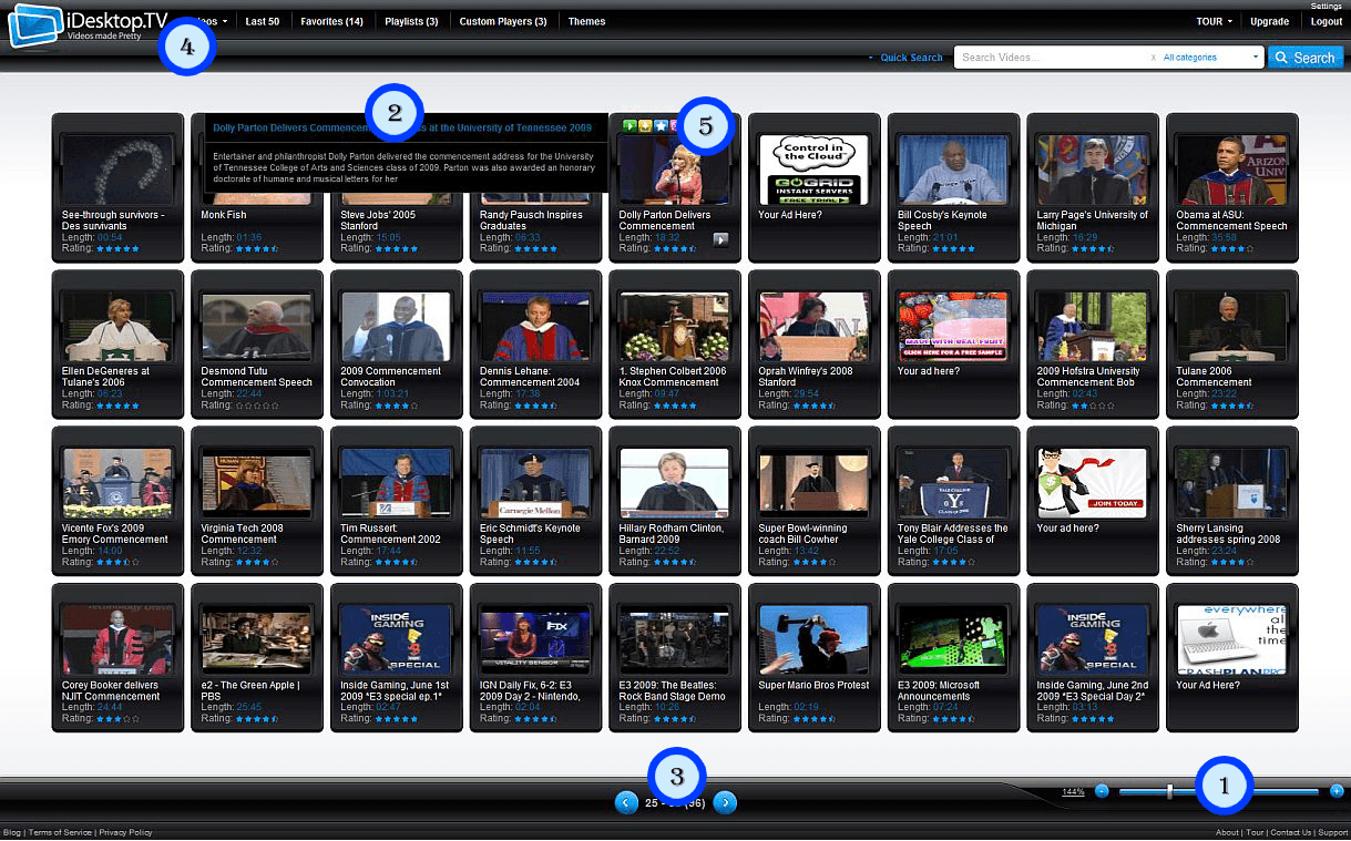 iDesktop.TV website