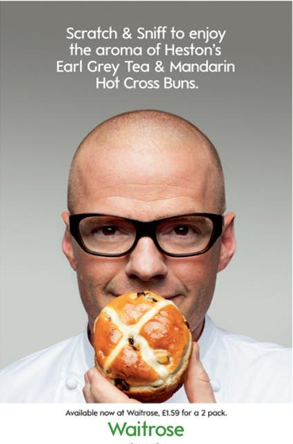 Waitrose associate with the familiar and highly respected chef Heston Blumenthal