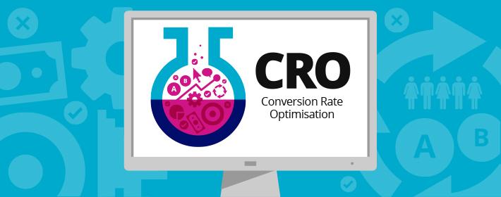 Conversion rate optimisation logo