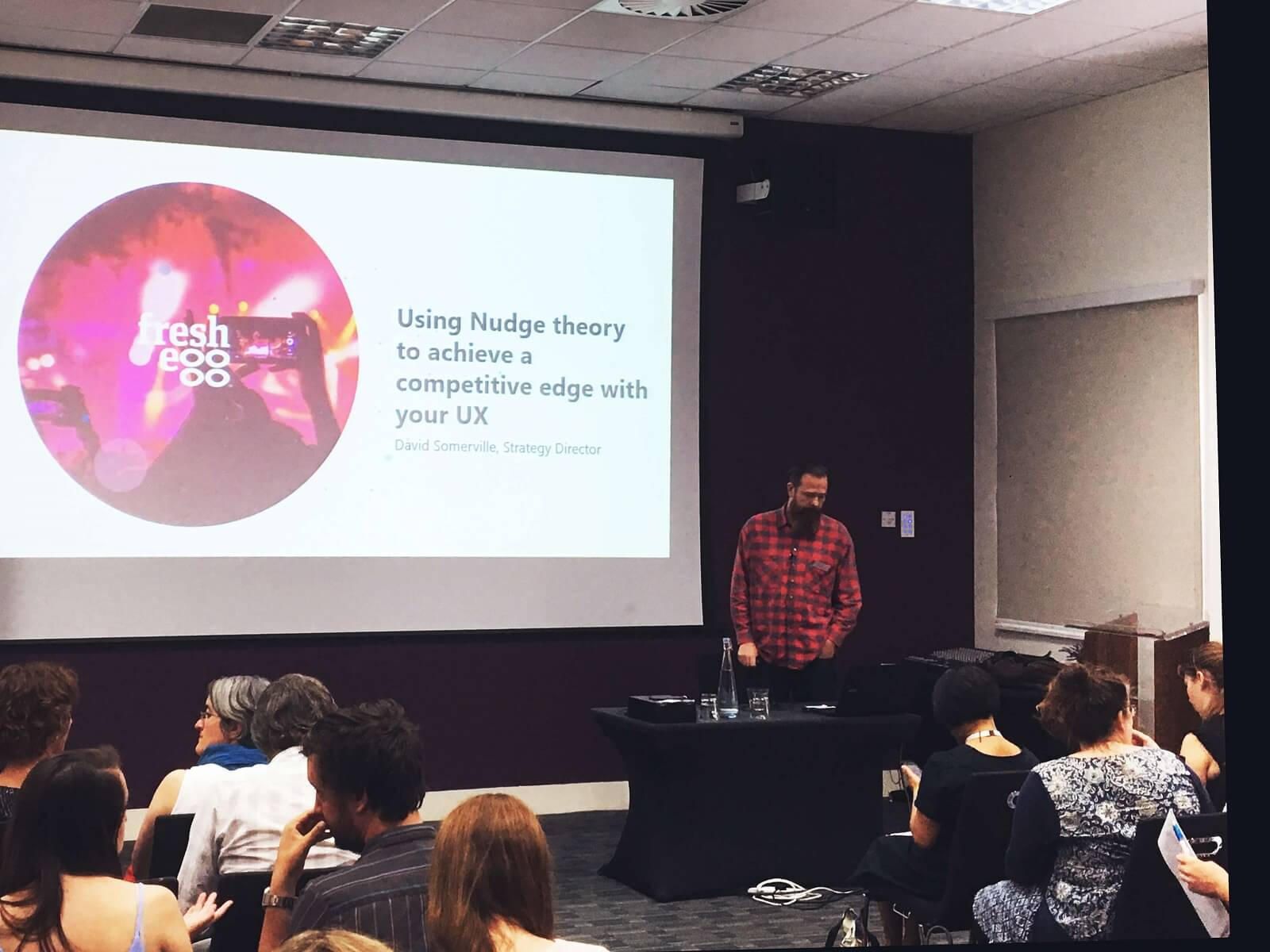 David Somerville Presenting 'Nudge Theory'