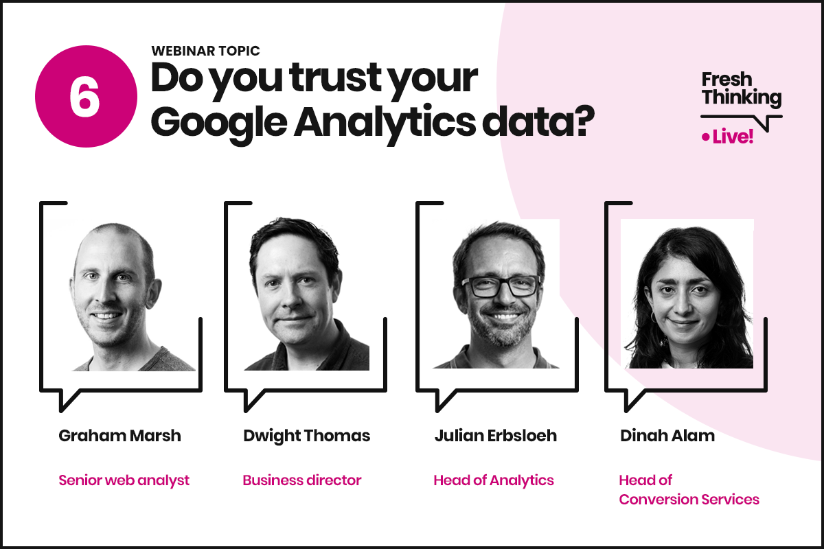 Do you trust your Google Analytics data?