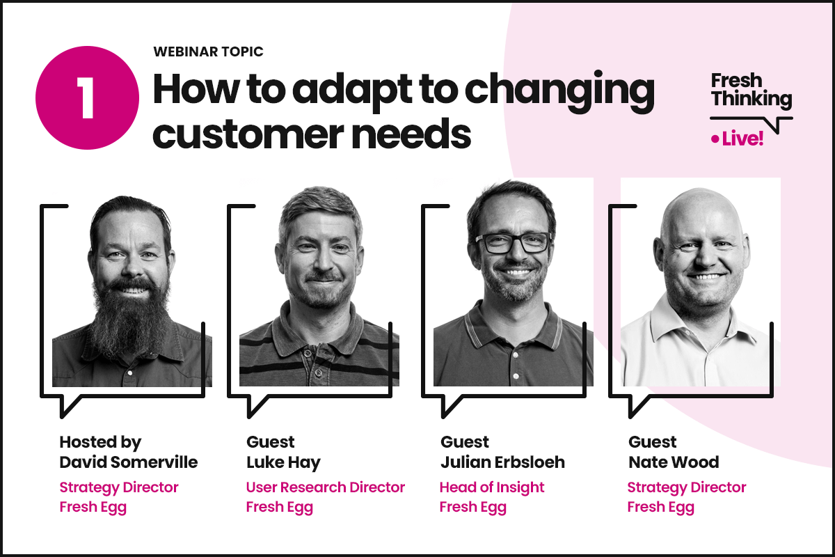 How to adapt to changing customer needs