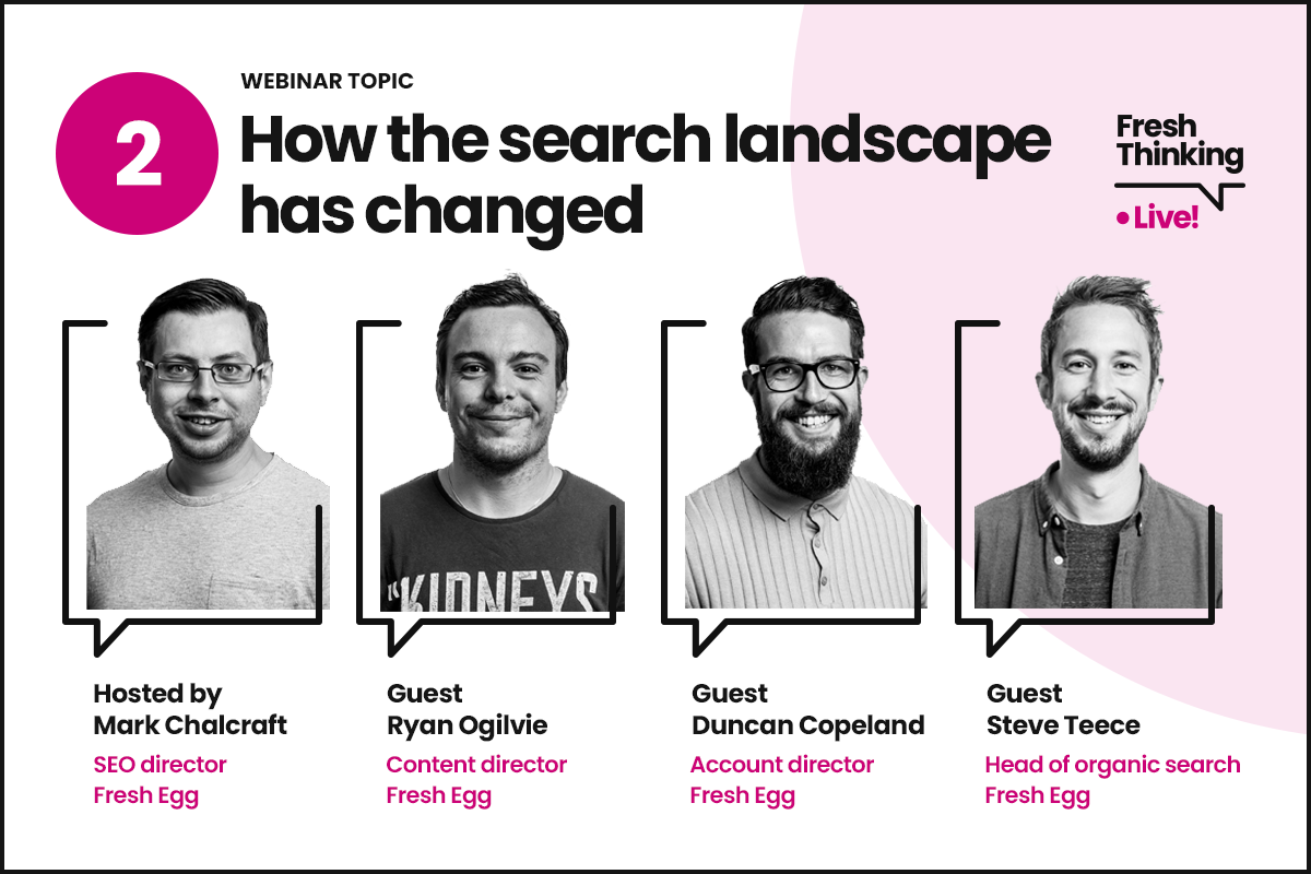 How the search landscape has changed overnight and what to do about it