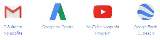 Hasil gambar untuk google for non profit