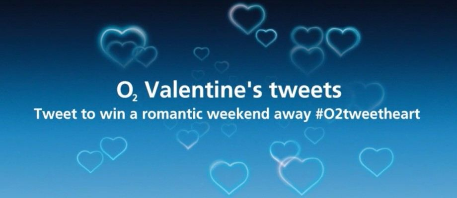 O2's Valentine's twitter competition