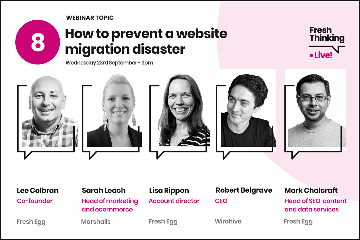 How to prevent a website disaster webinar