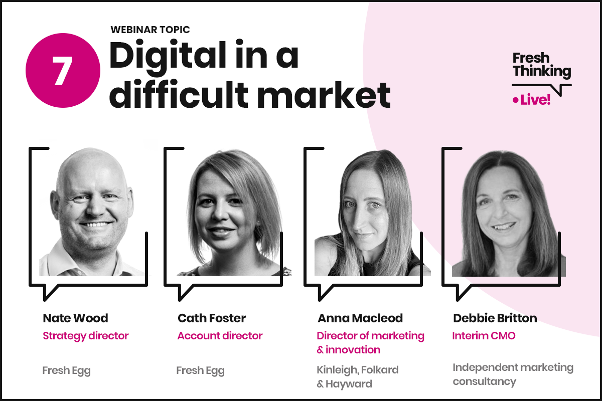 Digital in a difficult market